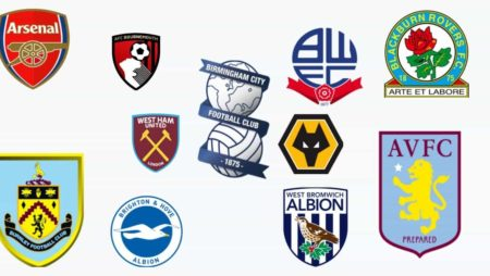 Красно белая символика футбольного клуба англия